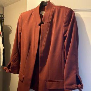 LOFT maroon blazer